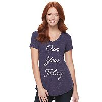 Women's Apt. 9® V-Neck Graphic Tee