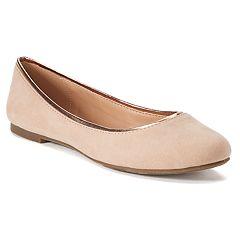 LC Lauren Conrad Sheen Women's Ballet Flats