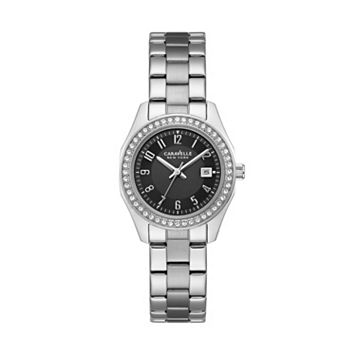 Caravelle New York by Bulova Women's Crystal Stainless Steel Watch - 43M113