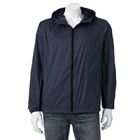 Big & Tall Hemisphere Packable Hooded Rain Jacket