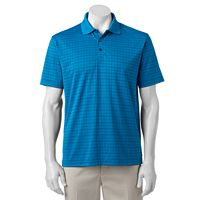 Big & Tall Haggar® Classic-Fit Windowpane Performance Polo