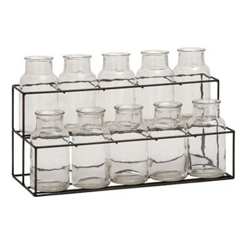 Glass Jar & Stand Table Decor 11-piece Set