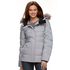 Women's ZeroXposur Faux-Fur Trim Puffer Jacket
