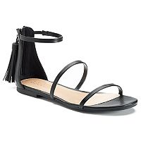 LC Lauren Conrad Shimmer Women's Sandals