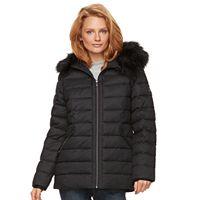 Women's ZeroXposur Faux-Fur Trim Puffer Jacket