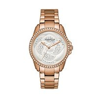 Caravelle New York by Bulova Women's Rose Crystal Stainless Steel Watch - 44L233