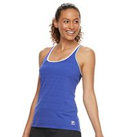Women's FILA SPORT® 2-in-1 Cross Back Sports Bra & Tank