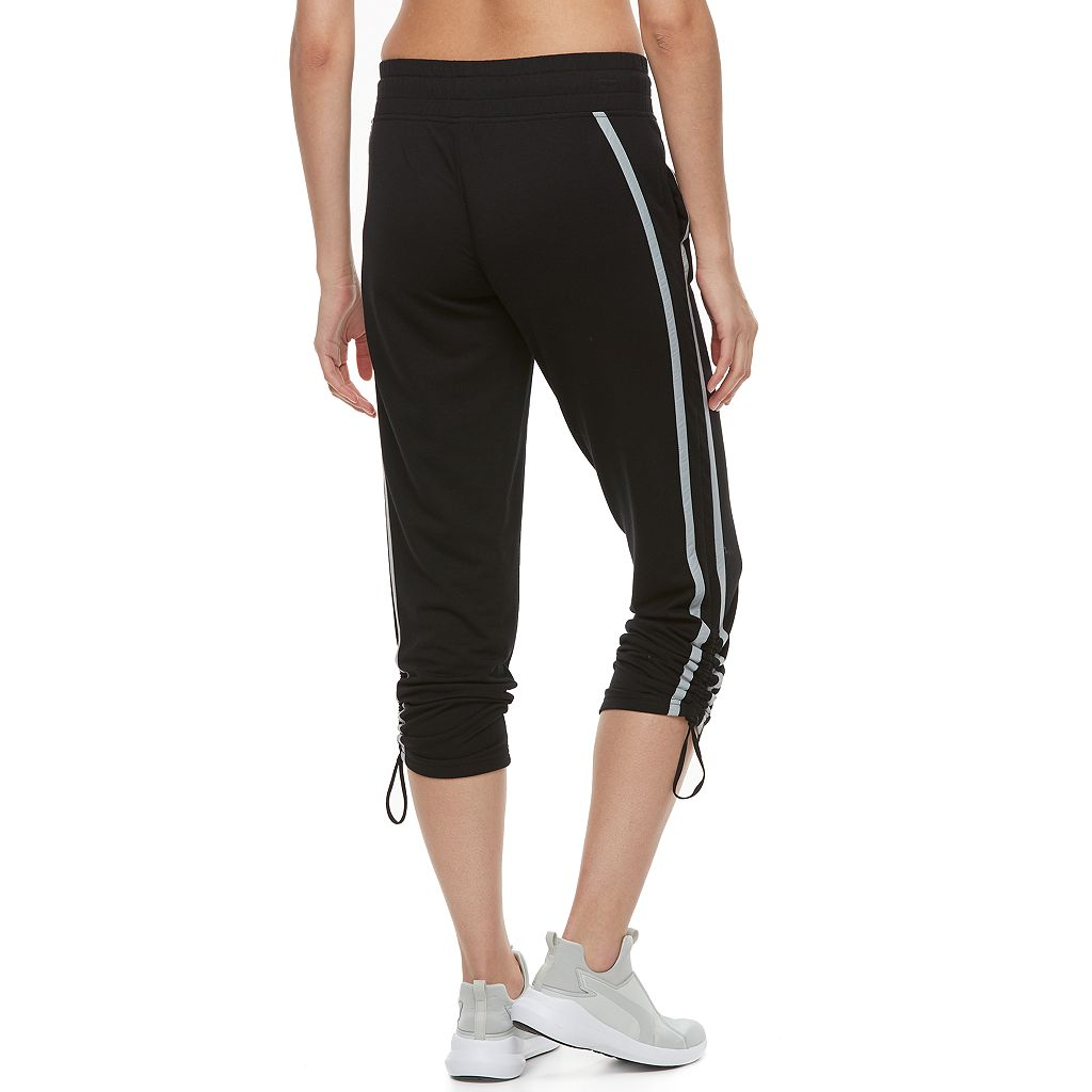 Women's Tek Gear® Ruched French Terry Track Pants