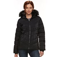 Women's ZeroXposur Shimmer Faux-Fur Quilted Jacket