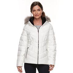 Women's ZeroXposur Shimmer Faux-Fur Quilted Jacket