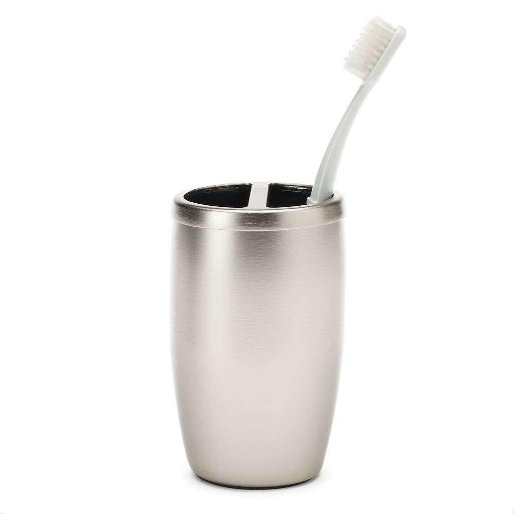 Home Classics® Aluminum Toothbrush Holder