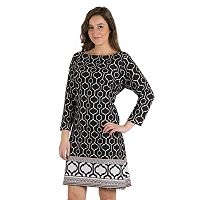 Women's Larry Levine Printed Shift Dress