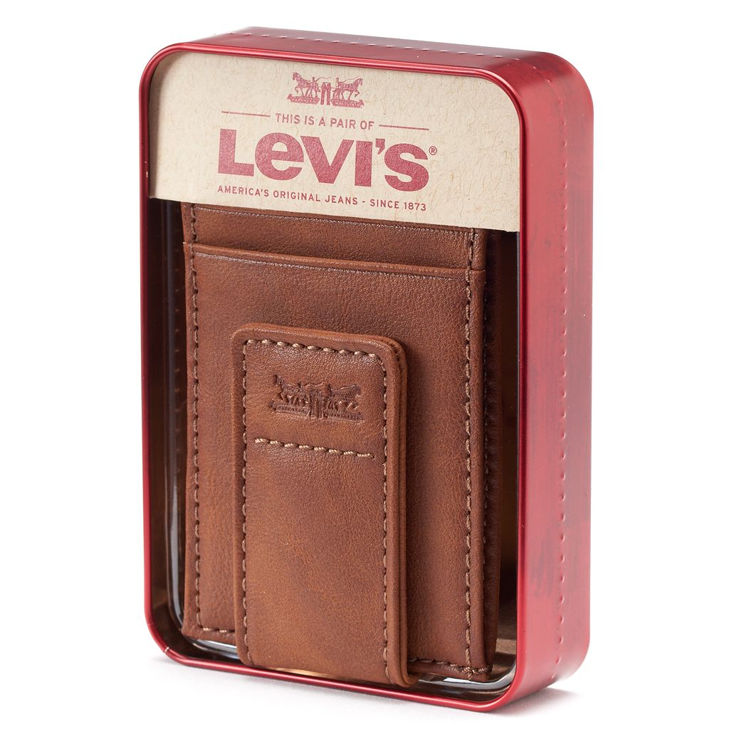 Men's Levi's® Slim Magnetic Front-Pocket Wallet