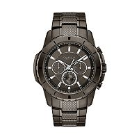 Caravelle New York by Bulova Men's Ion-Plated Stainless Steel Chronograph Watch - 45A139