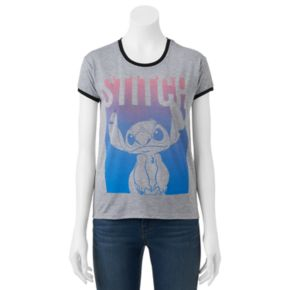 Disney's Lilo & Stitch Ringer Graphic Tee
