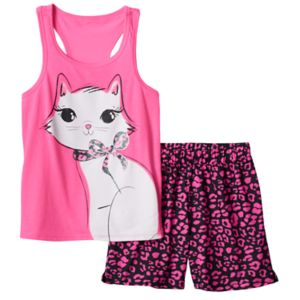 Girls 4-16 SO® Racerback Tank & Shorts Pajama Set