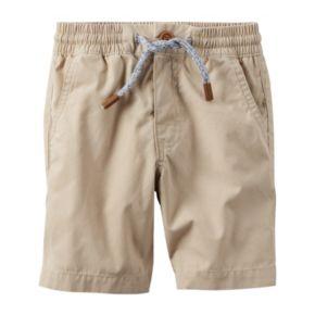 Baby Boy Carter's Khaki Pull-On Shorts