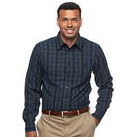 Big & Tall Haggar Classic-Fit Easy-Care Button-Down Shirt