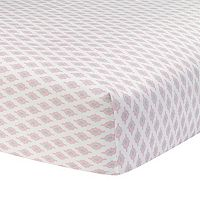 Happi by Dena Charlotte Medallion Fitted Crib Sheet by Lambs & Ivy