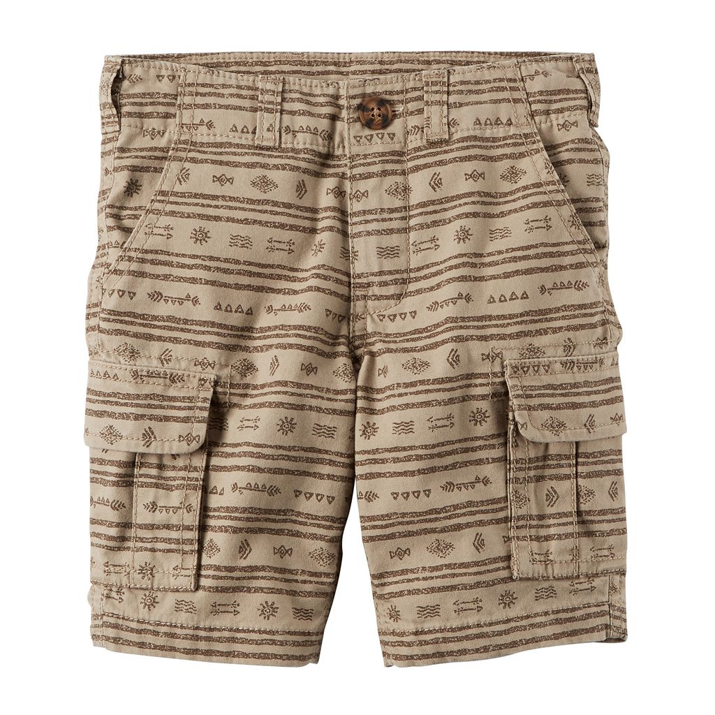 Toddler Boy Carter's Printed Cargo Shorts