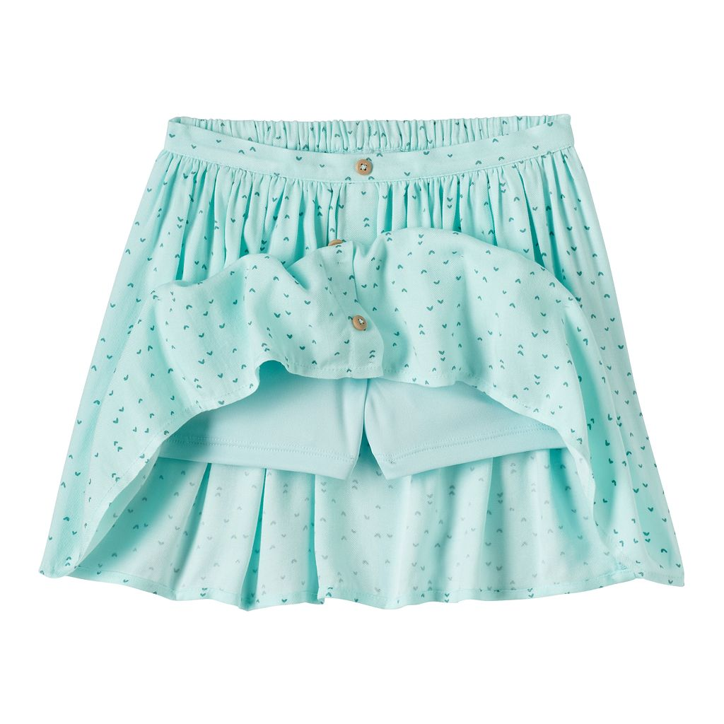 Girls 4-10 Jumping Beans® Button-Front Skort