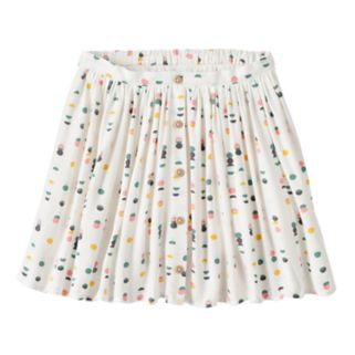 Girls 4-10 Jumping Beans® Button-Front Skort