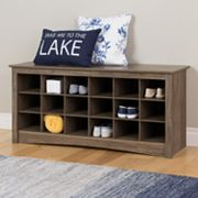 Prepac Shoe Cubby Bench