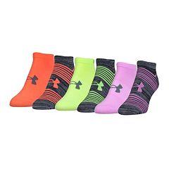 Women's Under Armour 6 pkTraining No-Show Socks