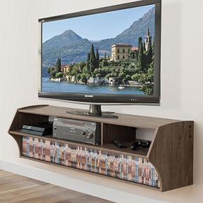 Prepac Altus Plus Wall TV Stand