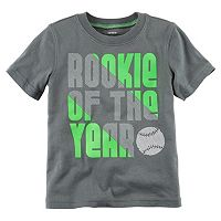 Toddler Boy Carter's Short Sleeve Line Sport Graphic Tee