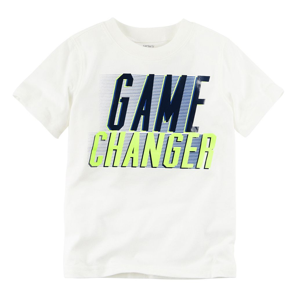 Baby Boy Carter's Short Sleeve Line Sport Graphic Tee