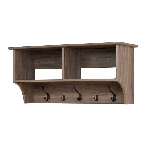 Prepac 36-in. Wide Wall Entryway Shelf