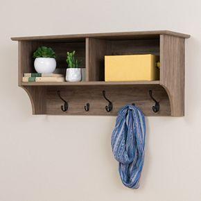 Prepac 36-in. Wide Wall Entryway Shelf