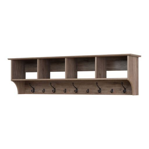 Prepac 60-in. Wide Wall Entryway Shelf