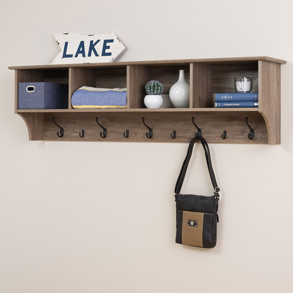 Prepac 60-in. Wide Wall Entryway Shelf