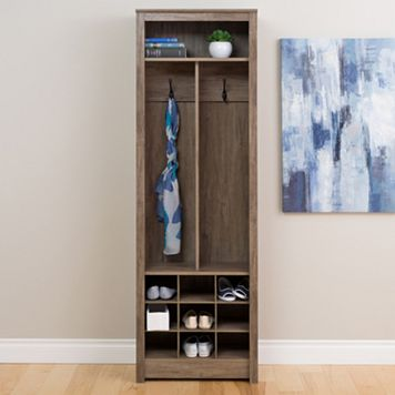 Prepac Space-Saving Entryway Organizer