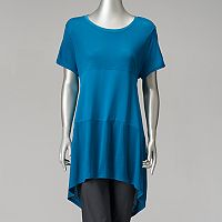 Women's Simply Vera Vera Wang Mixed-Media Swing Tee