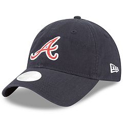 Women's New Era Atlanta Braves 9TWENTY Glisten Adjustable Cap