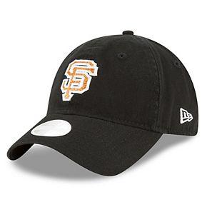 Women's New Era San Francisco Giants 9TWENTY Glisten Adjustable Cap