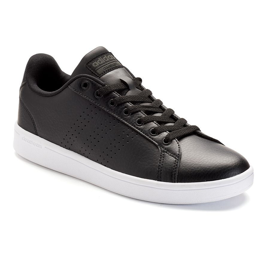brand new 755ac 7bfc7 ... baskets cuir à scratch noir garçon  adidas neo mesh for vente ohio ...