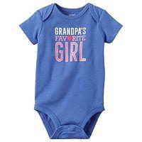 Baby Girl Carter's Family Graphic Slogan Bodysuit