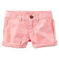 Toddler Girl Carter's Twill Shorts