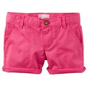 Toddler Girl Carter's Twill Shorts