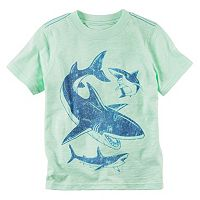 Toddler Boy Carter's Short Sleeve Sea Creature Graphic Tee