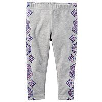 Toddler Girl Carter's Printed Leggings