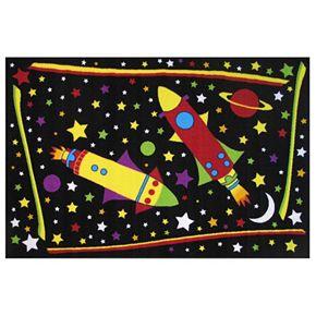 Fun Rugs Fun Time Outer Space Rug - 3'3'' x 4'10''