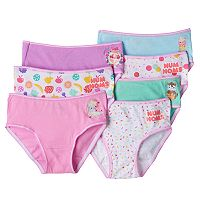 Girls 4-10 Num Noms Van Minty, Candie Puffs & Raspberry Cream 7 pkBrief Panties