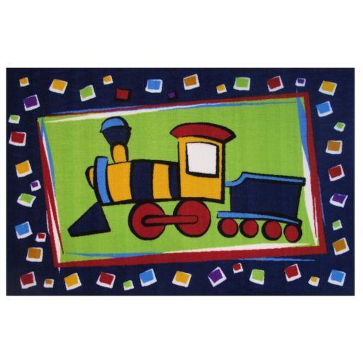 Fun Rugs Fun Time Choo Choo Train Rug - 3'3'' x 4'10''