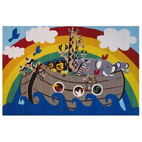 Fun Rugs Fun Time Animal Boat Rug - 3'3'' x 4'10''