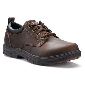 df9d89fe597 Skechers Relaxed Fit Cottonwood Elks SR Men s Non-Slip Work Shoes